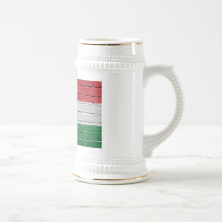 Flag of Hungary Beer Stein