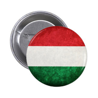 Flag of Hungary 2 Inch Round Button