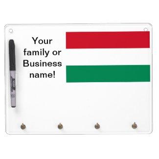 Flag of Hungary Dry Erase Whiteboards