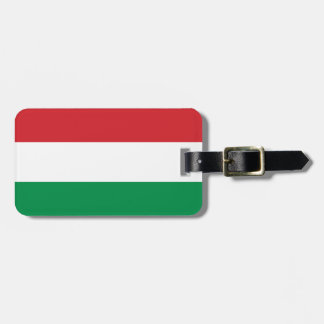 Flag of Hungary Easy ID Personal Luggage Tag