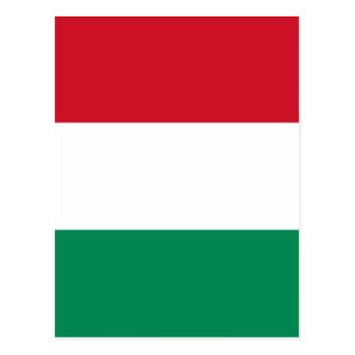 Flag of Hungary Postcard