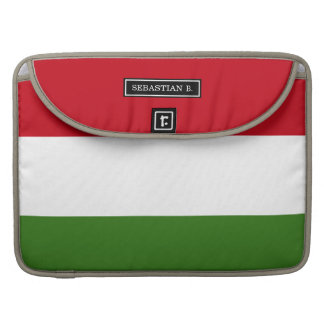 Flag of Hungary Sleeve For MacBook Pro