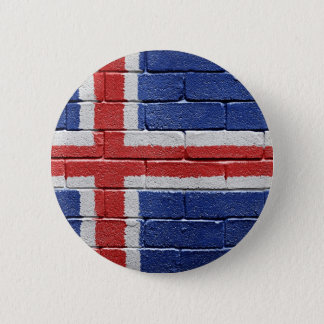 Flag of Iceland Button