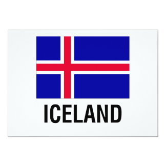 FLAG of ICELAND Card