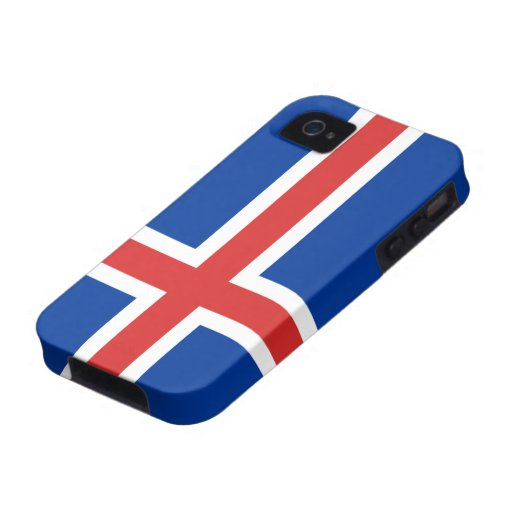 Flag of Iceland iPhone 4/4S Case