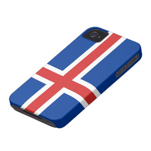 Flag of Iceland iPhone 4 Covers