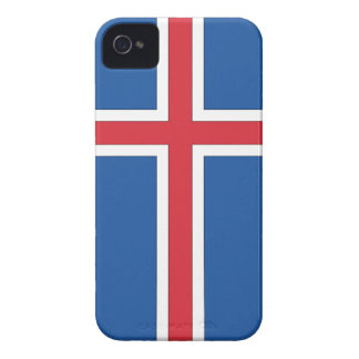 Flag of Iceland iPhone 4 Case-Mate Cases
