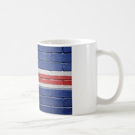 Flag of Iceland Classic White Coffee Mug