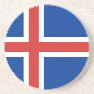 Flag of Iceland Coaster