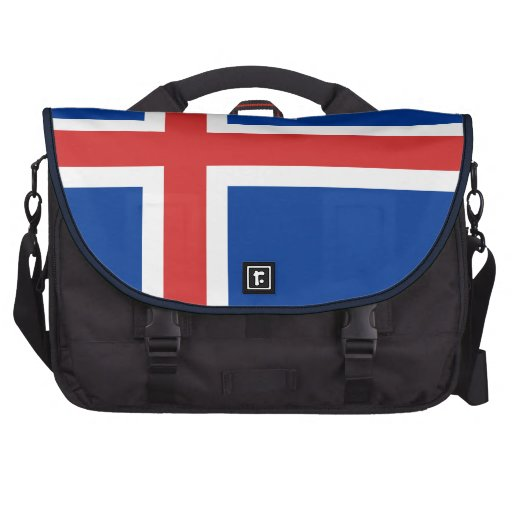 Flag of Iceland Laptop Bags