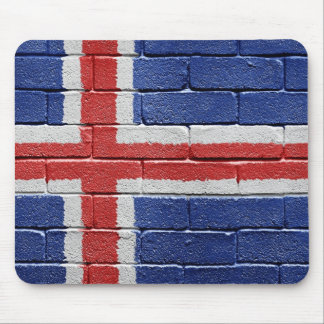 Flag of Iceland Mouse Pad