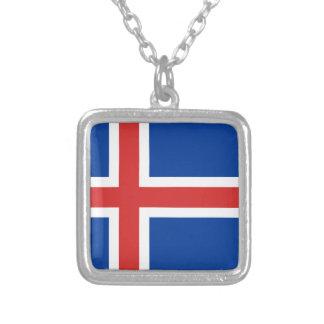 Flag of Iceland Pendants