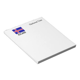 FLAG of ICELAND Notepad