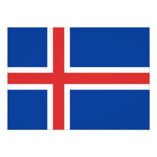 Flag of Iceland Photo Art
