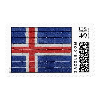 Flag of Iceland Postage
