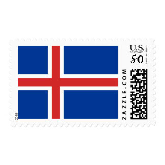 Flag of Iceland Postage Stamps