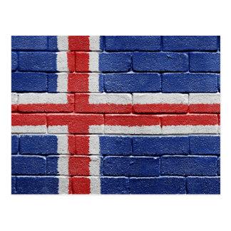 Flag of Iceland Postcard