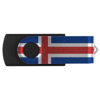 Flag of Iceland USB Flash Drive