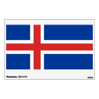 Flag of Iceland Wall Sticker