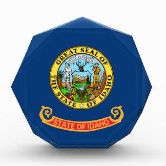 Flag of Idaho Acrylic Award
