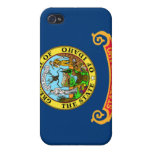Flag of Idaho Cases For iPhone 4