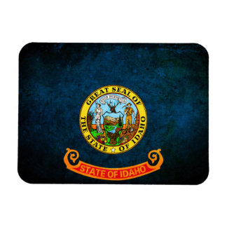 Flag of Idaho Rectangle Magnets