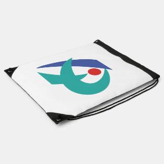 Flag of Iga, Mie, Japan Drawstring Backpack