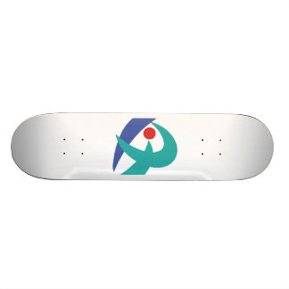 Flag of Iga, Mie, Japan Skateboard Deck