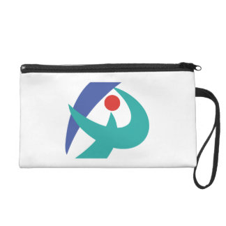 Flag of Iga, Mie, Japan Wristlet Purse
