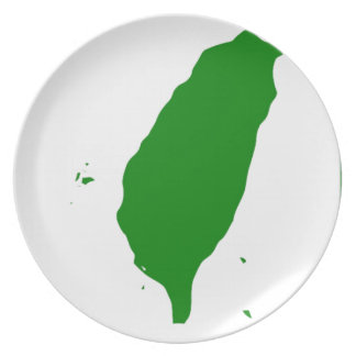 Flag of Independent Taiwan - 臺灣獨立運動 - 台灣獨立運動 Melamine Plate