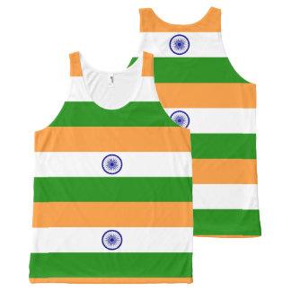 Flag of India - तिरंगा - भारत का ध्वज All-Over-Print Tank Top