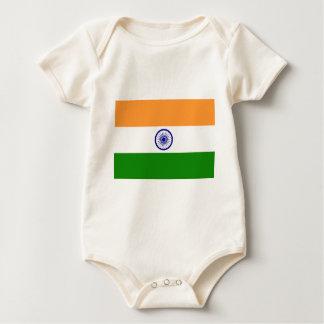 Flag of India - तिरंगा  - भारत का ध्वज Baby Bodysuit