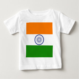 Flag of India Ashoka Chakra Baby T-Shirt