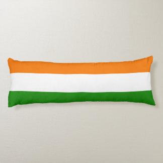 Flag of India Ashoka Chakra Body Pillow