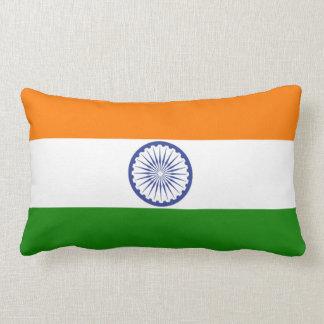 Flag of India Ashoka Chakra Lumbar Pillow