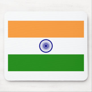 Flag of India. Bharat Ganrajya Mouse Pad