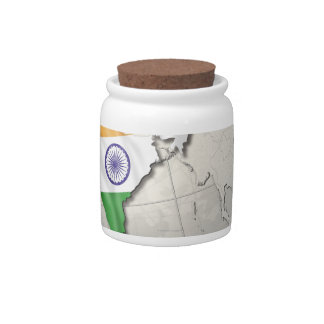 Flag of India Candy Dish