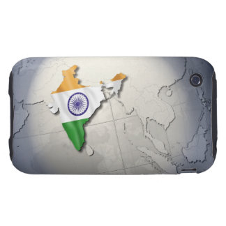 Flag of India iPhone 3 Tough Covers