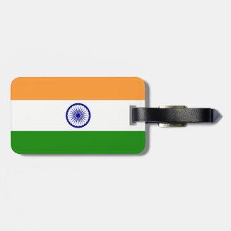 Flag of India Travel Bag Tags