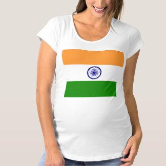 Flag of India Maternity T-Shirt