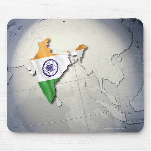 Flag of India Mousepads