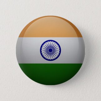 Flag of India Pinback Button