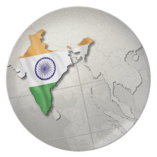 Flag of India Dinner Plate