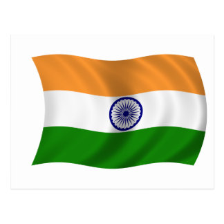 Flag of India Post Cards