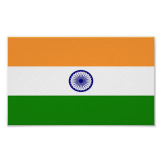 Flag of India Poster