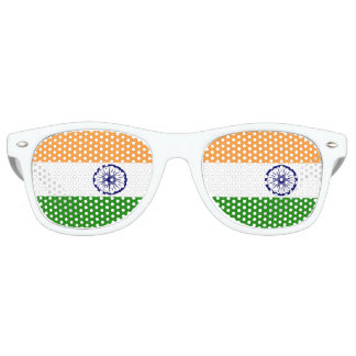 Flag of India Retro Sunglasses