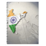 Flag of India Spiral Note Book