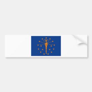 Flag of Indiana Bumper Sticker
