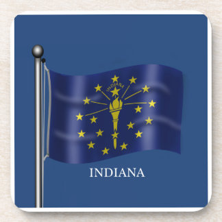 Flag of Indiana Coaster
