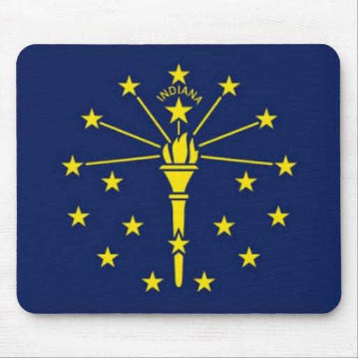 Flag of Indiana Mousepad